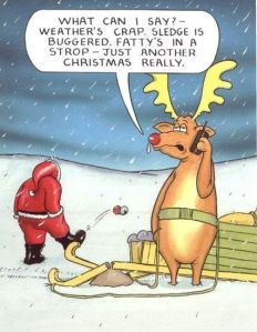 English Humour - Fatty in a Strop.